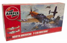 AIRFIX 1/48 P-51D-5 Mustang Filletless Tail
