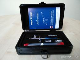 ADLER AD-9001 Aerograf Airforce 0.2mm+ 0.3mm+0.5mm Airbrush Set