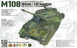 AFV CLUB 1/35 U.S. Self-Propelled Howitze M108
