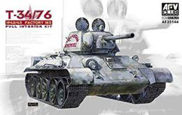 AFV CLUB 1/35 T-34/76 1942/43 Factory 183 Full
