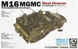 AFV CLUB 1/35 M16 MGMC Meat Chopper Self-propelled Quad Anti-Air Gun