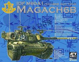 AFV CLUB 1/35 IDF M60A1 Magach 6B