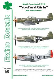 EXITO Decals 1/72 Yoxford Girls - P-51D Mustang
