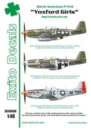 EXITO Decals 1/48 Yoxford Girls - P-51D Mustang