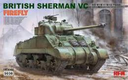 RYE FIELD 1/35 1/35 British Sherman VC Firefly Medium Tank
