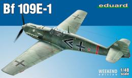 EDUARD WEEKEND 1/48 Messerschmitt Bf-109E-1