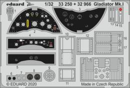 EDUARD SET 1/32 Gladiator Mk.I for ICM