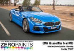ZERO PAINTS 1127-BMW-MISANO Blue Peral Paint 60ml