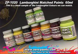 ZERO PAINTS 1020-Lamborgini BIANCO Isis 0060-60ml