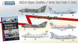 SPECIAL HOBBY 1/72 SMB-2 Super Mystere DUO PACK & Book 6x camo
