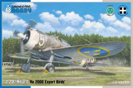 SPECIAL HOBBY 1/48 J-20/Héja I Re 2000 Export Birds (4x camo)