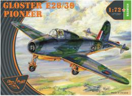 CLEAR PROP 1/72 Gloster E28/39 Pioneer (starter kit)
