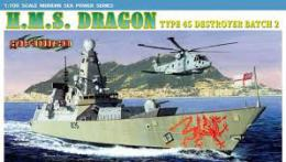 DRAGON 1/700 H.M.S. Dragon Type 45 Destroyer Batch 2