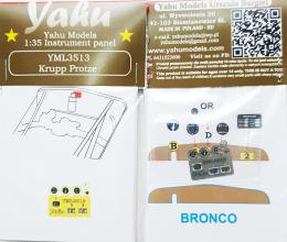 YAHU 1/35 Krupp Protze Instrument panel for BRC