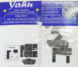 YAHU 1/48 W-3A Sokol TOPR Instrument panel for ANS