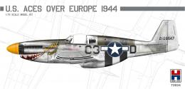 H2000 1/72 P-51B Mustang US Aces over Europe