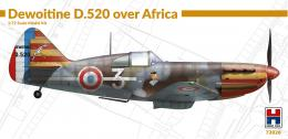 H2000 1/72 Dewoitine D.520 over Africa