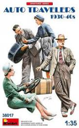 MINIART 1/35 Auto Travellers 1930-40s (4 fig.)