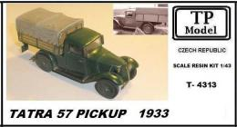 TP MODEL 1/43 TATRA 57 Pickup 1933 (resin kit)