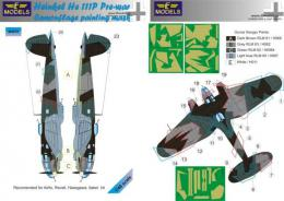 LF MODELS 1/48 Mask He 111P Pre-war Camouflage  painting