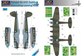 LF MODELS 1/48 Mask He 111Z Zwilling Camouflage  painting