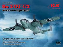 ICM 1/48 Dornier Do-217J-1/2 WWII German Night Fighter