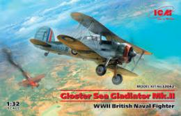 ICM 1/32 Gloster Sea Gladiator Mk.II WWII British Naval Fighter