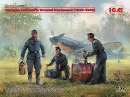 ICM 1/32  German Luftwaffe Ground Personnel (1939-1945)
