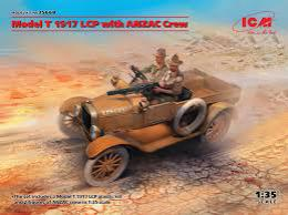 ICM 1/35  Model T 1917 LCP with ANZAC Crew