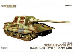 MODELCOLLECT 1/35 UA35005 German WWII E50 Jagdtiger II with 105mm Gun