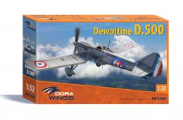 DORA WINGS 1/32 Dewoitine D.500 French Fighter