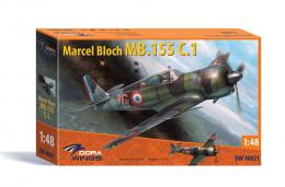 DORA WINGS 1/48 Marcel Bloch MB.155C.1