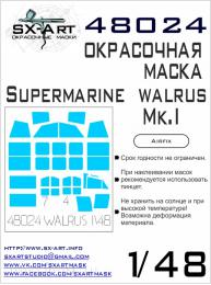 SX-ART 1/48 Supermarine Walrus Mk.I Painting mask for AIRF