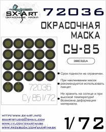 SX-ART 1/72 Su-85 Painting mask for ZVE