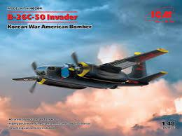 ICM 1/48 B-26C-50 Invader Korean War American Bomber