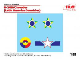 ICM 1/48 Decal for B-26B/C Invader in Latin America