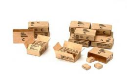 TAMIYA 1/35 WWII 10-In-1 Ration Cartons