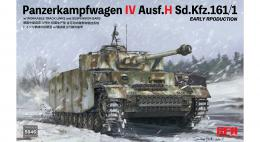 RYE FIELD MODEL 1/35 Pz.kpfw.IV Ausf.H early production w/workable track links