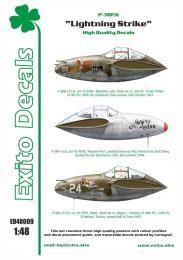 EXITO Decals 1/48 Lightning Strike