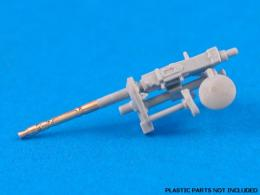 ABER 1/35 35L063 Set of 2 barrels for German Tank MG 34 machine guns