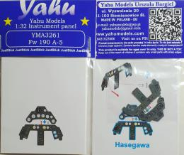YAHU 1/32 Instrument panel Fw-190A-5  for HAS
