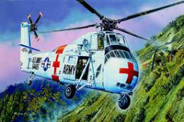 TRUMPETER 1/48 US Army CH-34 Rescue Helicopter