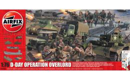AIRFIX 1/76 D-Day 75th Anniversary Operation Overlord Giant Gift Set