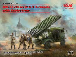 ICM 1/35 BM-13-16 on W.O.T. 8 chassis with Soviet Crew