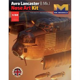 HK MODEL 1/32 Avro Lancaster B.Mk.I Nose Art Kit
