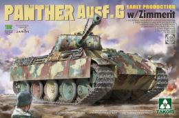 TAKOM 1/35 Panther Ausf.G Early Production w/Zimmerit