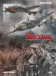EDUARD LIMITED 1/48 ADLERTAG Bf 110C/D Limited Edition
