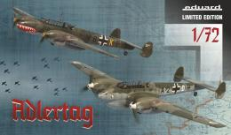 EDUARD LIMITED 1/72 ADLERTAG Bf-110C/D Limited Edition