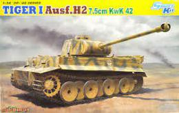 DRAGON 1/35  TIGER I Ausf.H2 7.5cm KwK 42