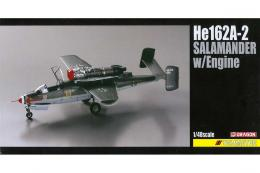 DRAGON 1/48 He 162A-2 Salamander w/engine